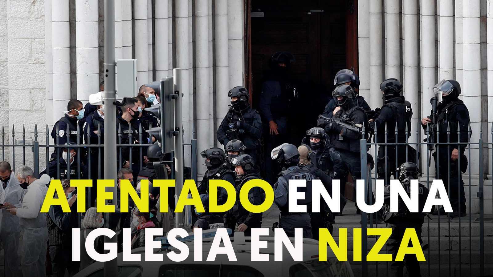 Niza, golpeada de nuevo por el terorrismo islamista en un atentado con cuchillo