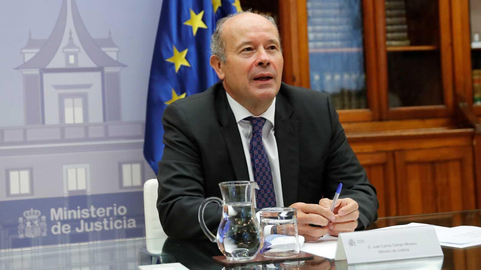"""Campo reconoce que está hablando con el PP para renovar el CGPJ y muestra una """"razonable esperanza"""""""