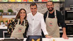 Cocina al punto con Peña y Tamara - Bacalao con sus callos y boletus
