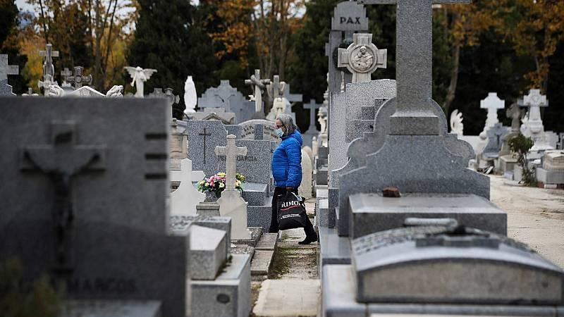 Restricción de aforos y limitación de visitas a los cementerios en Todos los Santos