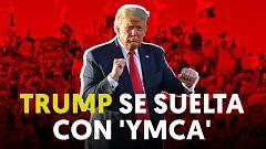 Trump baila a ritmo de YMCA de los 'Village People' y desata un reto en TitTok