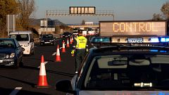 Los controles policiales marcan la víspera del puente de Todos los Santos