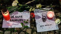 Un detenido en Barcelona por justificar el asesinato del profesor francés Samuel Paty