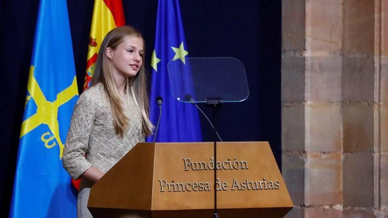 La princesa Leonor cumple 15 años