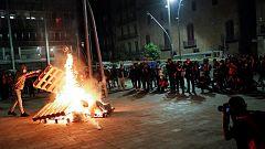 Nueva noche de protestas en Barcelona y Logroño por las restricciones anti-COVID