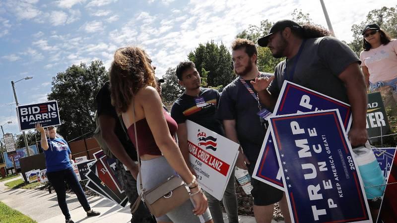 Personalidades republicanas hacen campaña en contra de Trump