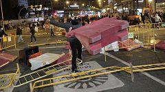Ola de altercados en Madrid, Logroño y otras ciudades españolas contra el confinamiento