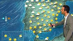 Cielos poco nubosos en la mayor parte del país con temperaturas altas para la época
