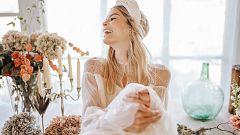 """Alma Aguilar: """"En los vestidos de novia, el tejido te habla y hay que escucharle"""""""
