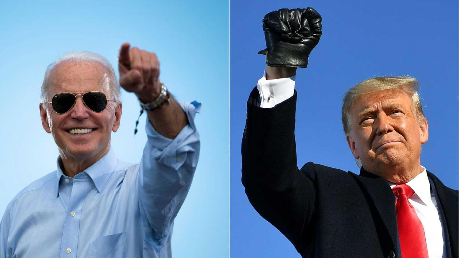 Biden es el candidato favorito en las elecciones de EE.UU, pero Trump recorta posiciones