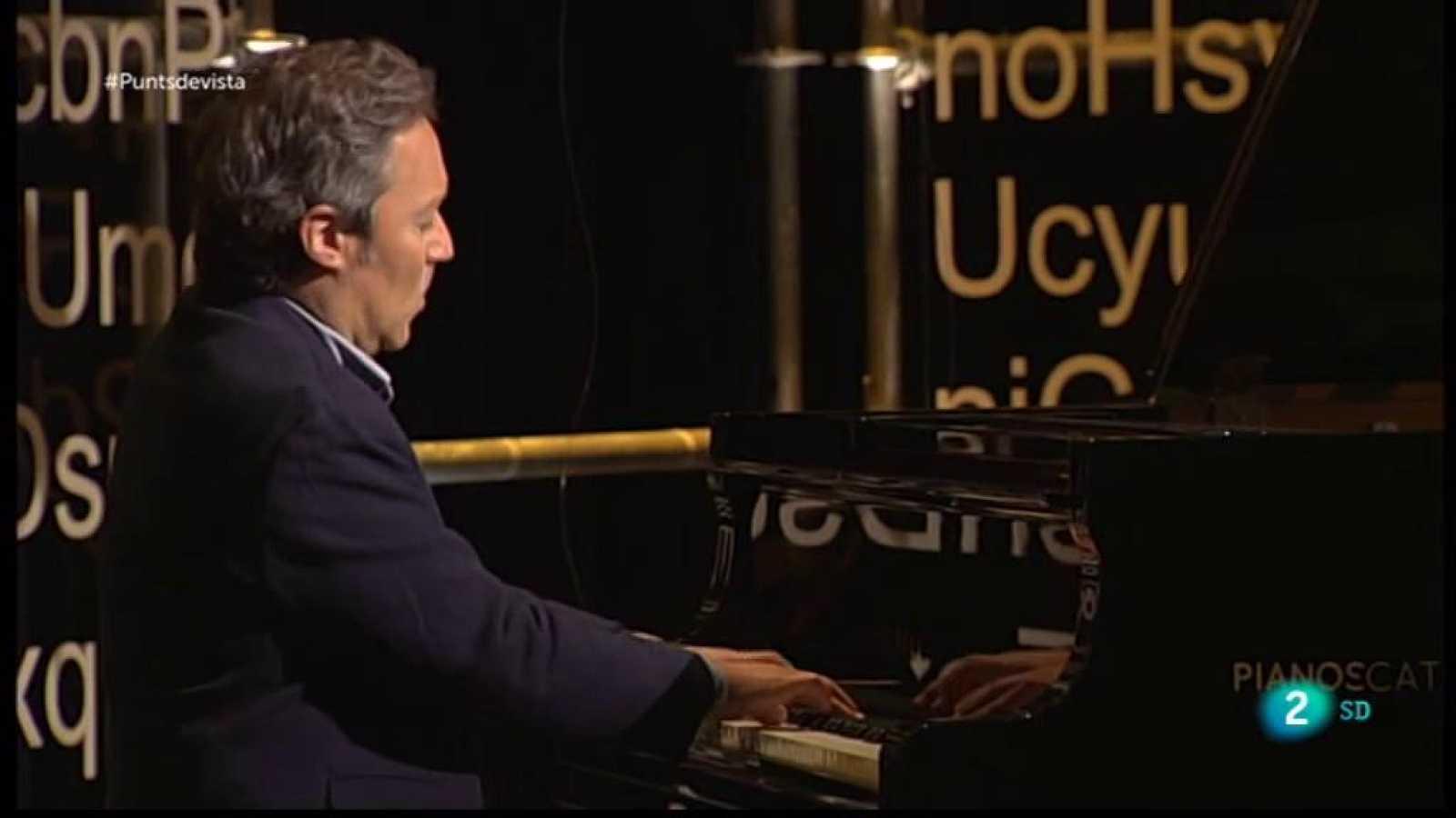 Pianista Daniel Ligorio a Punts de vista