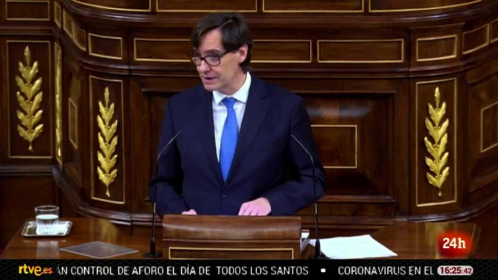 Parlamento - El foco parlamentario - Prórroga del estado de alarma hasta el 9 de mayo - 31/10/2020
