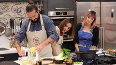 Cocina al punto con Peña y Tamara - Soja verde con níscalos