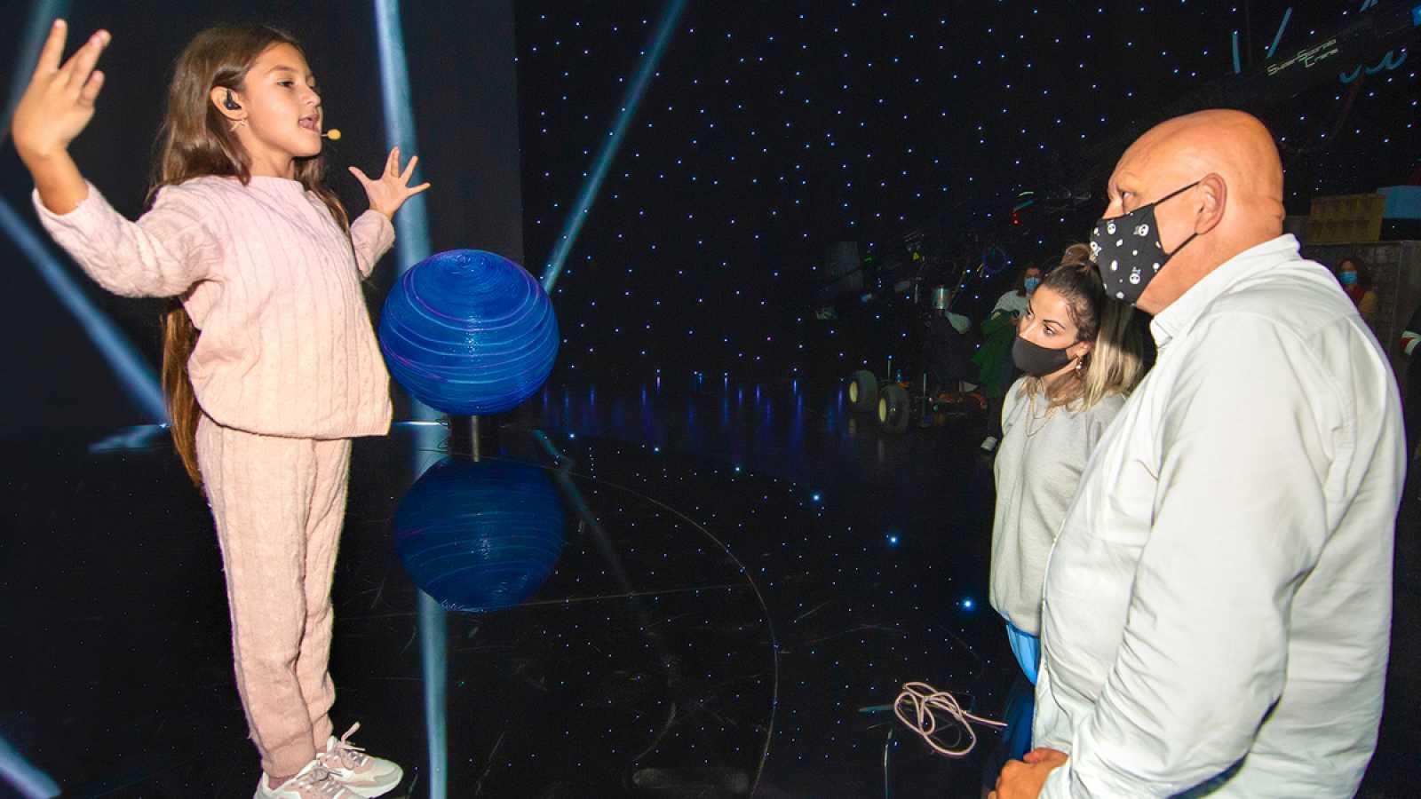 """Eurovisión Junior 2020 - Así es el escenario en el que Soleá ha grabado """"Palante"""""""