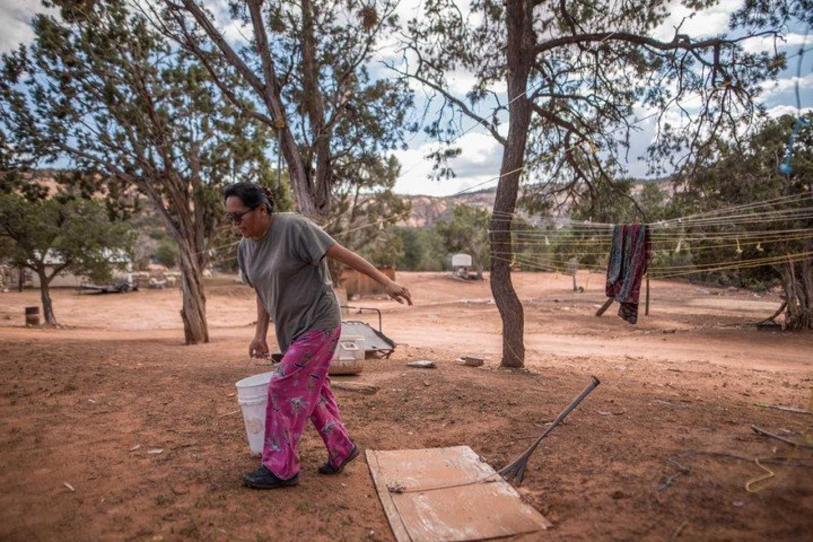 Llevar agua potable al pueblo navajo en EEUU