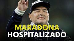 Maradona, hospitalizado en Buenos Aires