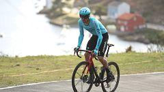Vuelta ciclista a España 2020 - 13ª etapa: Muros - Mirador de Ézaro-Dumbría (Podium)
