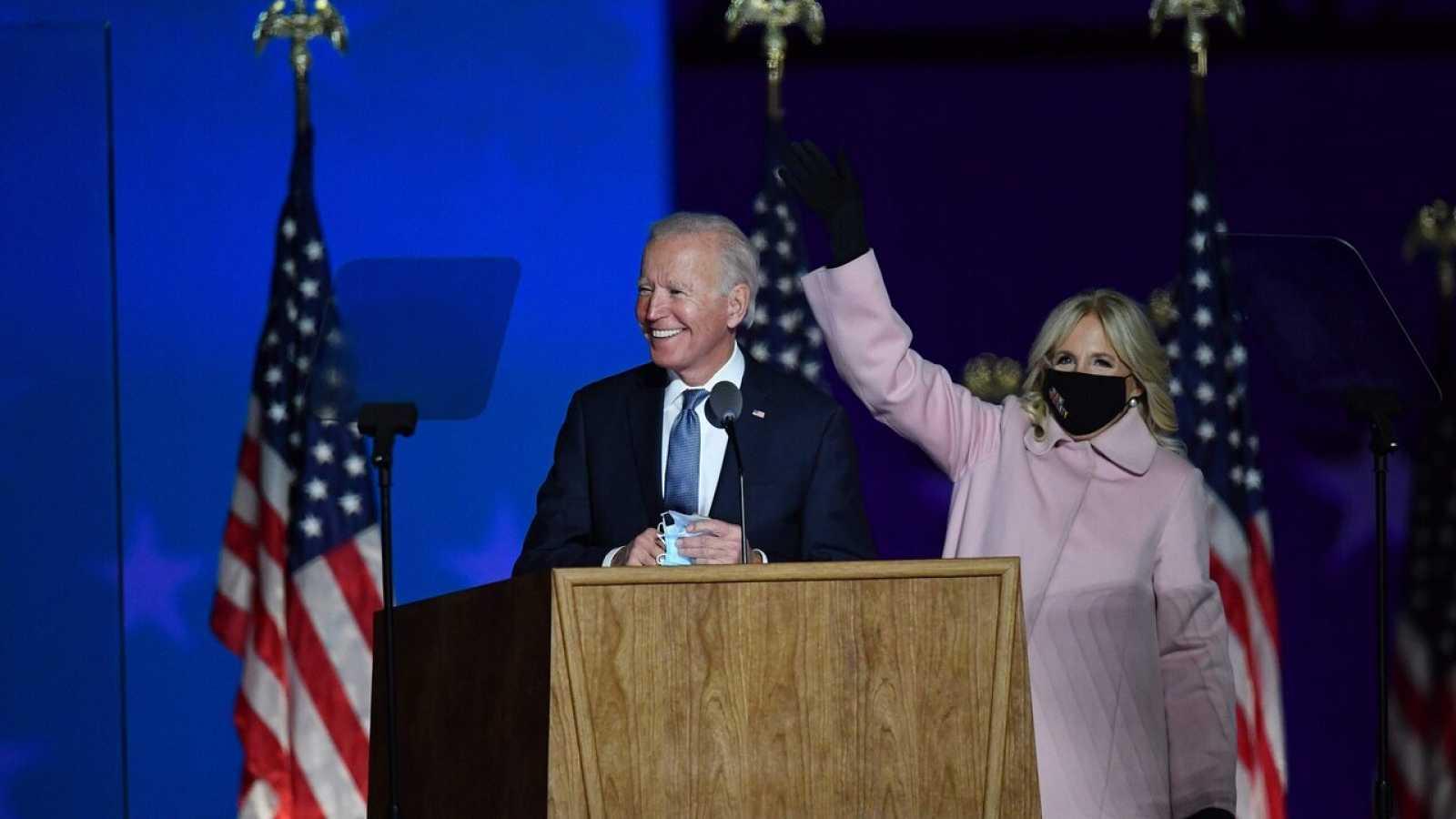 """Biden recuerda que """"cada voto cuenta"""" y cree que podrán ganar las elecciones"""
