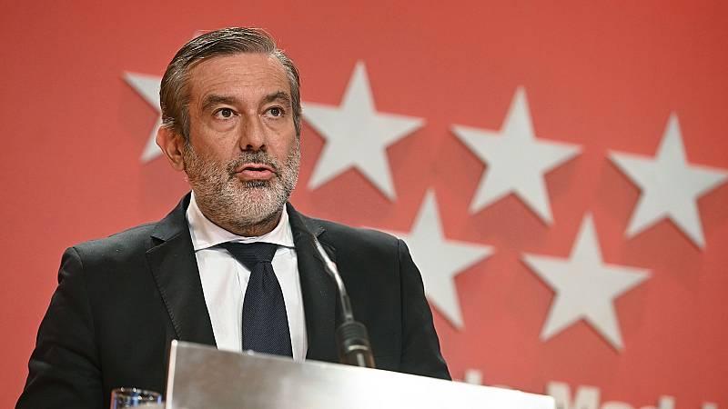 """López insiste en la necesidad de """"una ley orgánica"""" que permita a las CC.AA. tomar medidas para frenar la curva"""