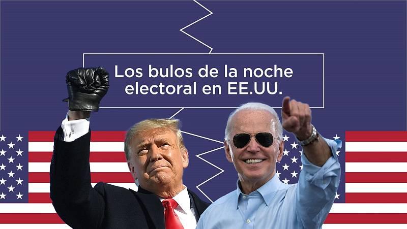 Los bulos de la noche electoral en Estados Unidos