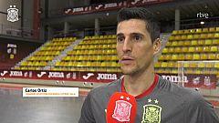 """Carlos Ortiz: """"Un España - Brasil nunca puede ser amistoso, nos jugamos el orgullo"""""""