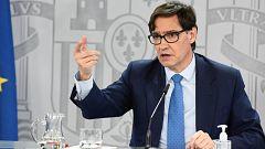 Especial informativo - Comparecencia del ministro de Sanidad, y ministra de Política Territorial - 04/11/20