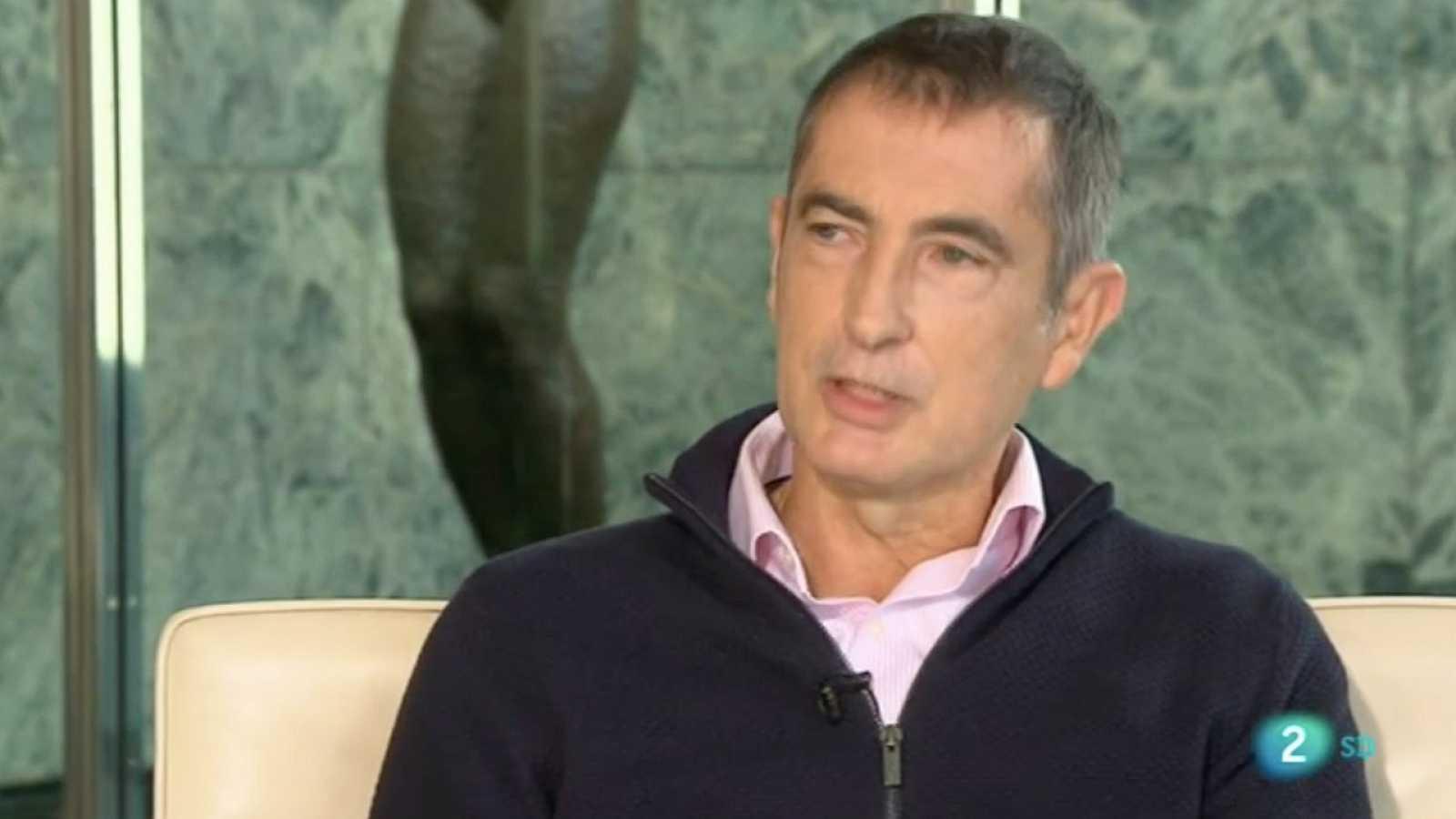 Carlos Goñi entrevistat per Anna Cler a Noms Propis
