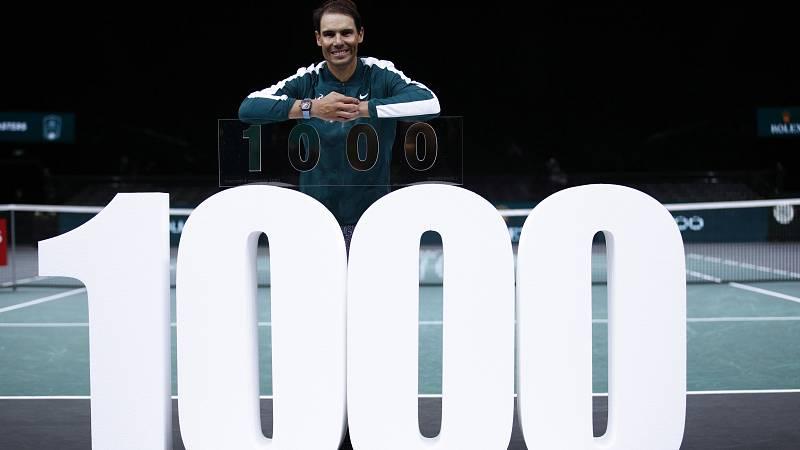 Nadal entra en el selecto club de las 1.000 victorias