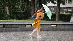 Lluvia fuerte en Comunidad Valenciana, Andalucía occidental y Málaga