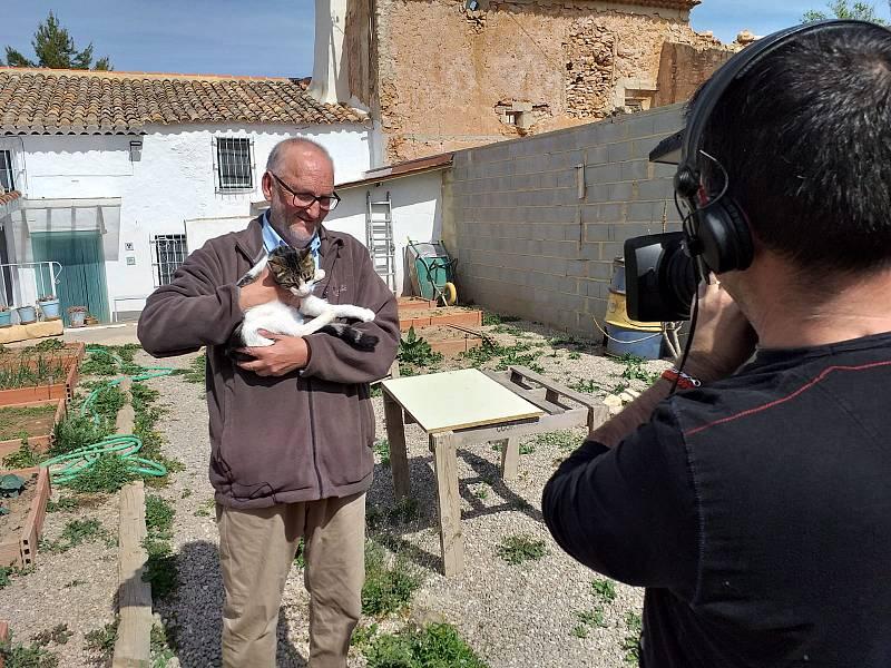 Paco Catalán, un animalista humilde.
