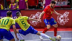 Fútbol Sala - Encuentro amistoso Selecciones absolutas de España y Brasil