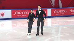 Patinaje artístico - Grand Prix Copa de China. Programa corto danza