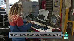 2100 empleos en transporte, mensajería y paquetería