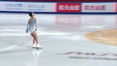 Patinaje artístico - Grand Prix Copa de China. Programa corto parejas