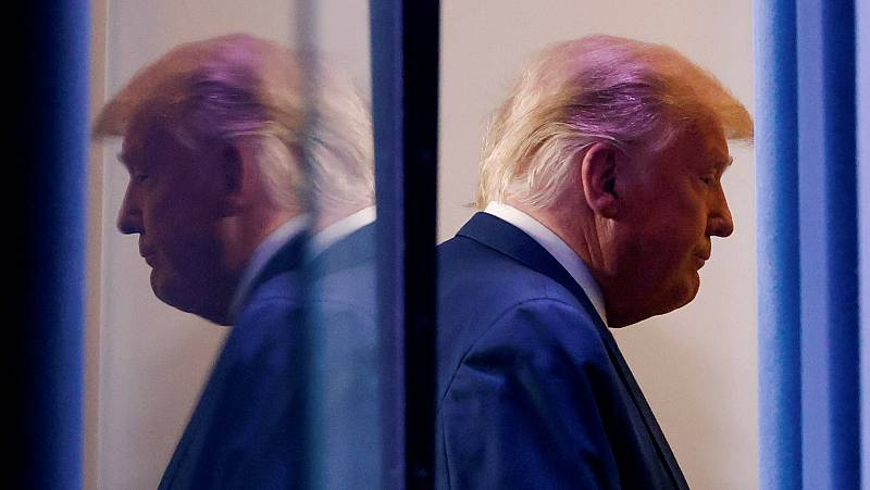 Trump insiste en las acusaciones de fraude sin pruebas