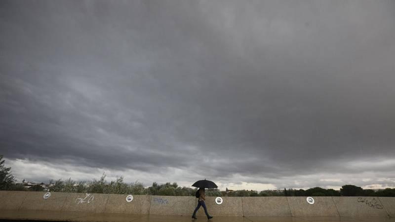 Precipitaciones localmente fuertes o persistentes en la Comunidad Valenciana y el sistema Central