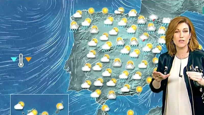 El tiempo - Precipitaciones y descenso de temperaturas este sábado - Ver ahora
