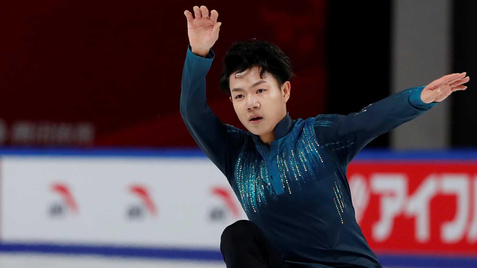 Patinaje artístico - Grand Prix Copa de China. Programa libre masculino - ver ahora