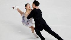 Patinaje artístico - Grand Prix Copa de China. Programa libre parejas