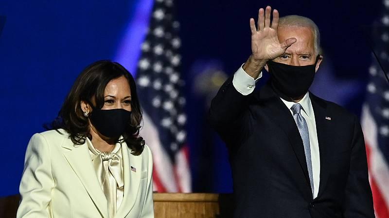 Biden promete unir al país y controlar la pandemia en su primer discurso como presidente electo