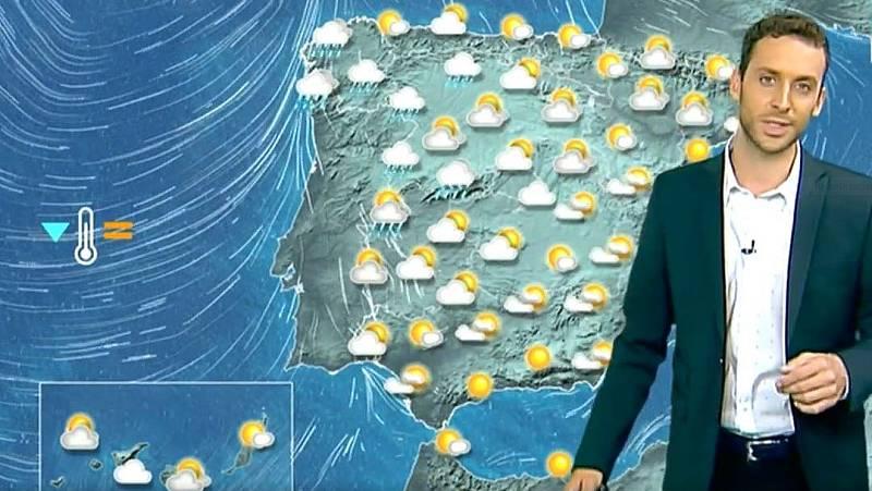 El tiempo: Lluvias en el oeste peninsular y en el norte de Canarias - Ver ahora