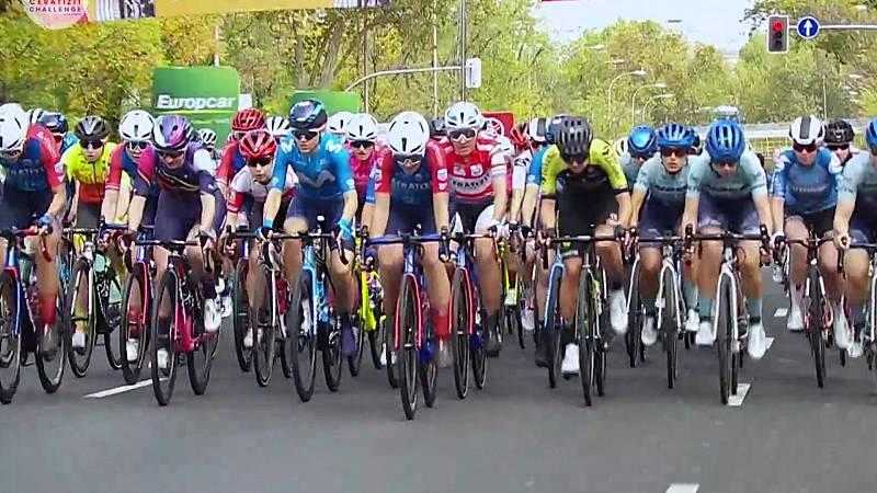"""Vuelta ciclista a España 2020 - Vuelta a España femenina: 3ª etapa """"Ceratizit Challenge by la Vuelta"""" - ver ahora"""