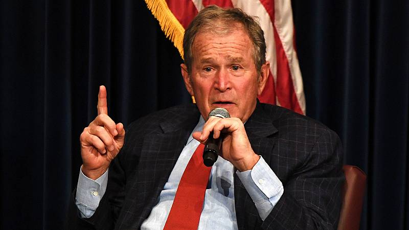 """El expresidente republicano Bush felicita a Biden y asegura que el resultado electoral es """"claro"""""""