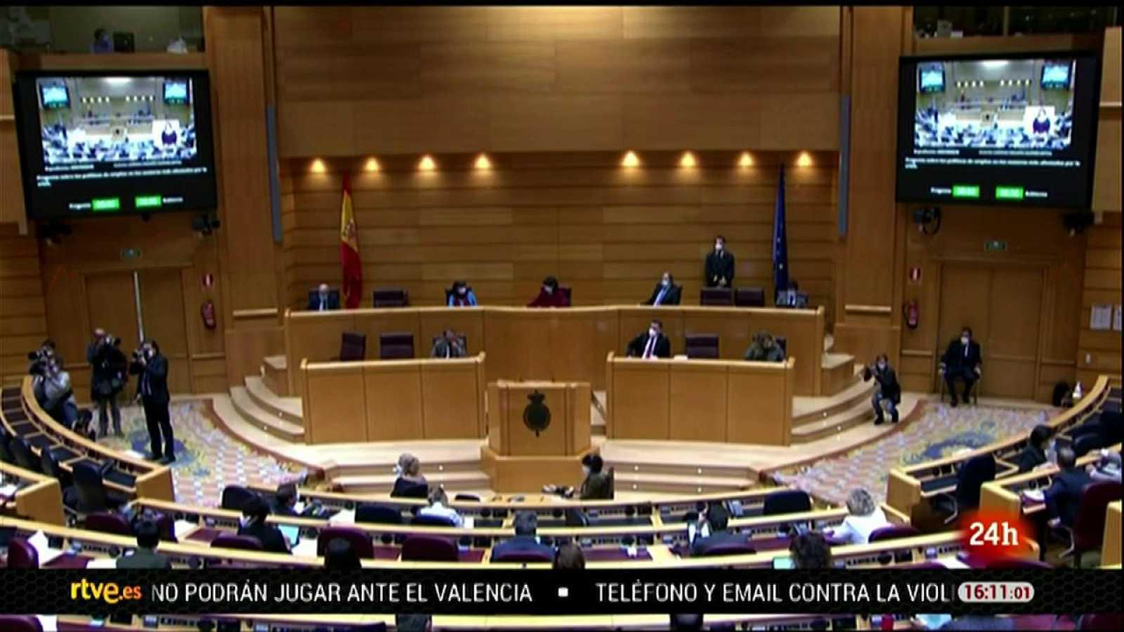Parlamento - El foco parlamentario - Sesión de control en el Senado - 07/11/2020