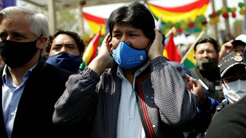 Evo Morales es recibido por una gran multitud en su regreso a Bolivia tras casi un año en el exilio