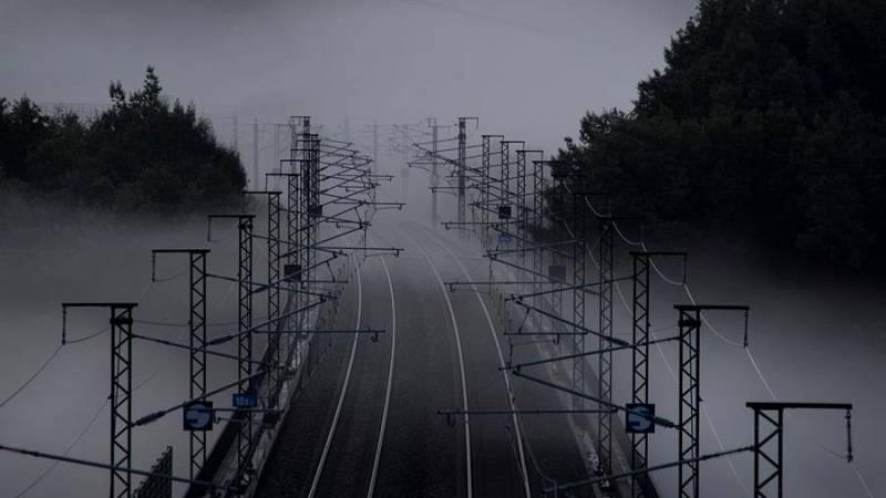 Nieblas en Galicia, ambas mesetas y depresiones del nordeste