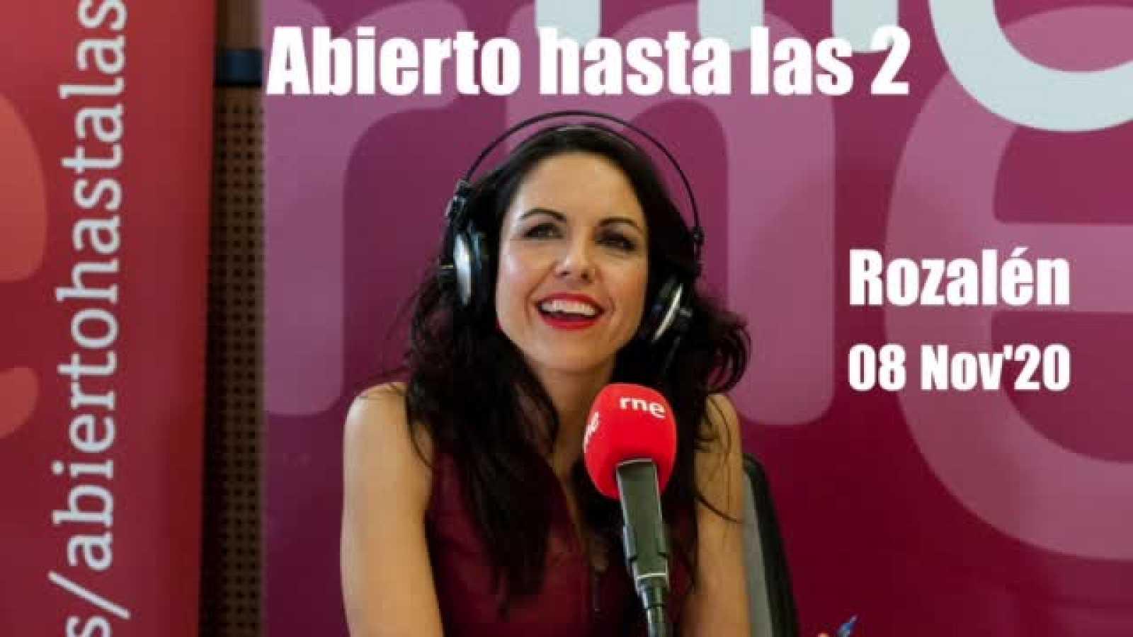 Abierto hasta las dos - Rozalén ' A tu vida' - 08/11/20 - ver ahora