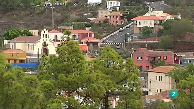 Puntagorda un pequeño municipio de la isla de La Palma