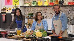 Cocina al punto con Peña y Tamara - Ñoquis de boniato a la putanesca
