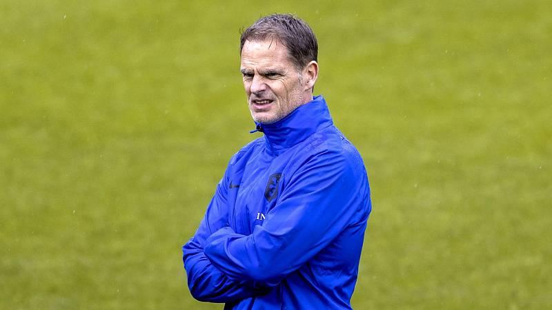 """De Boer: """"Queremos demostrar que somos los mejores"""""""